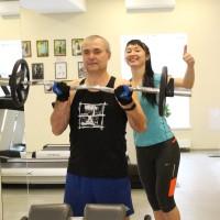 персональный фитнес тренер